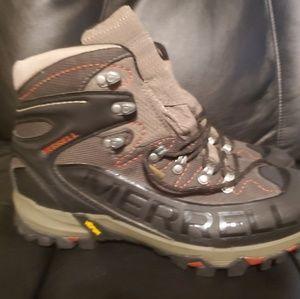 Merrell continuum black gortex boots size 11